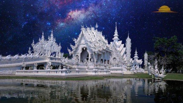 Ват Ронг Кхун – красивый и известный храм Таиланда