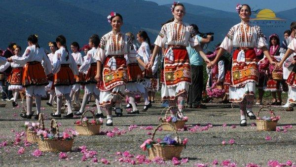 Болгария. Праздник роз