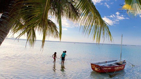 Бака-Чика, - пляж на котором нахождение детей в воде безопасно