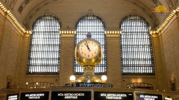 """Центральный вокзал """"Большого яблока"""" – самый большой железнодорожный вокзал в мире"""
